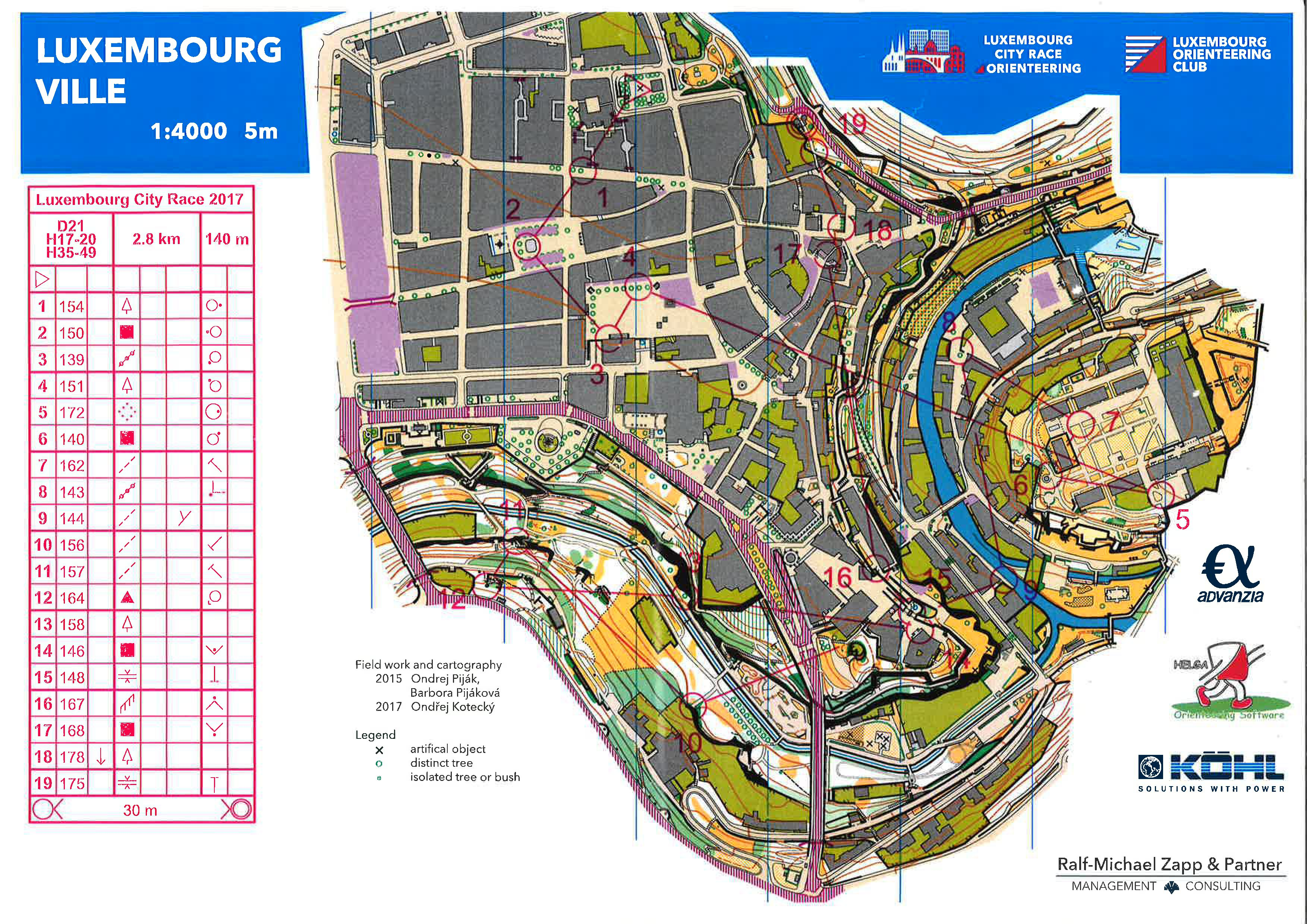 Luxembourg City Race (05-11-2017)