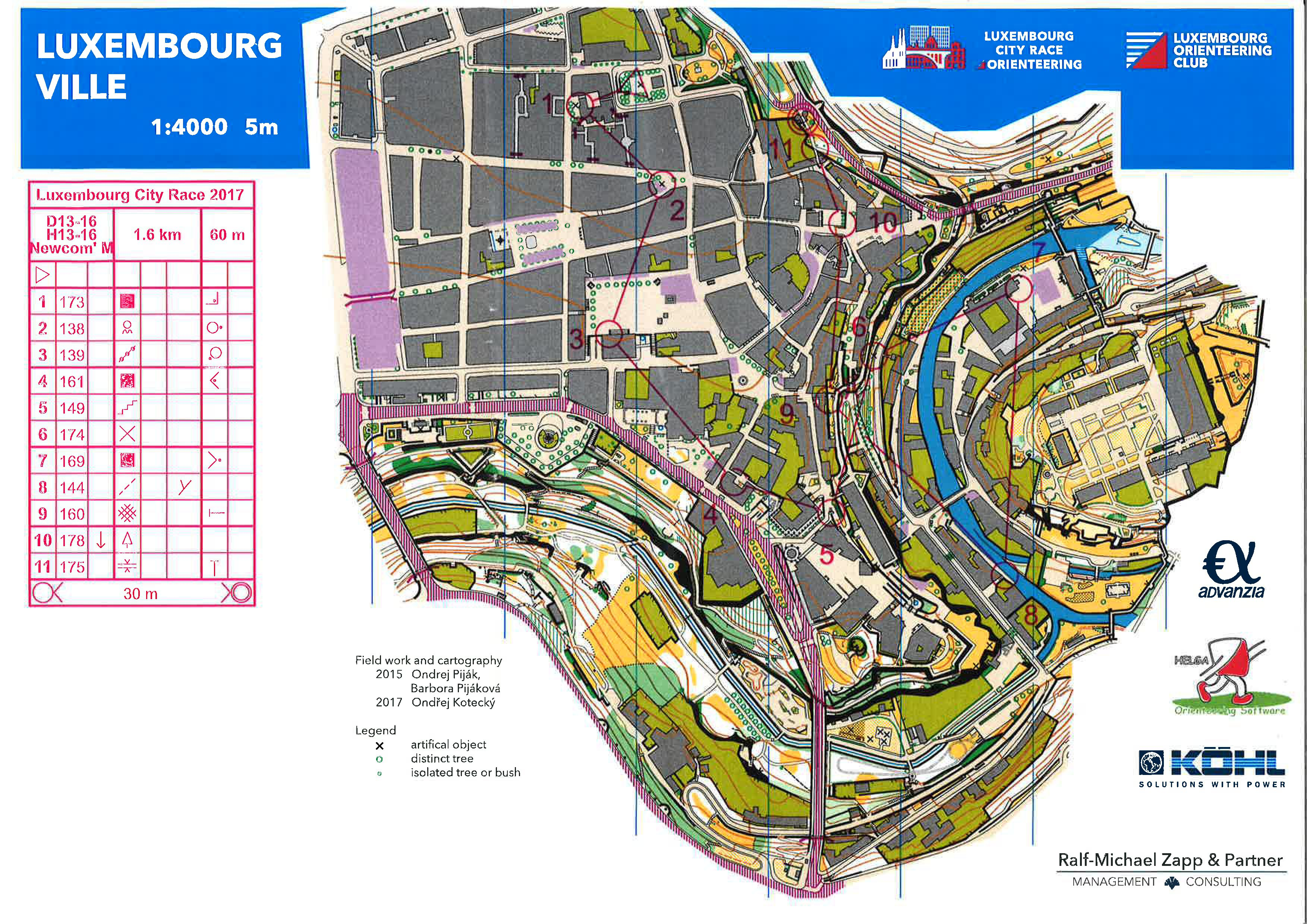 Luxembourg City Race (01-11-2017)