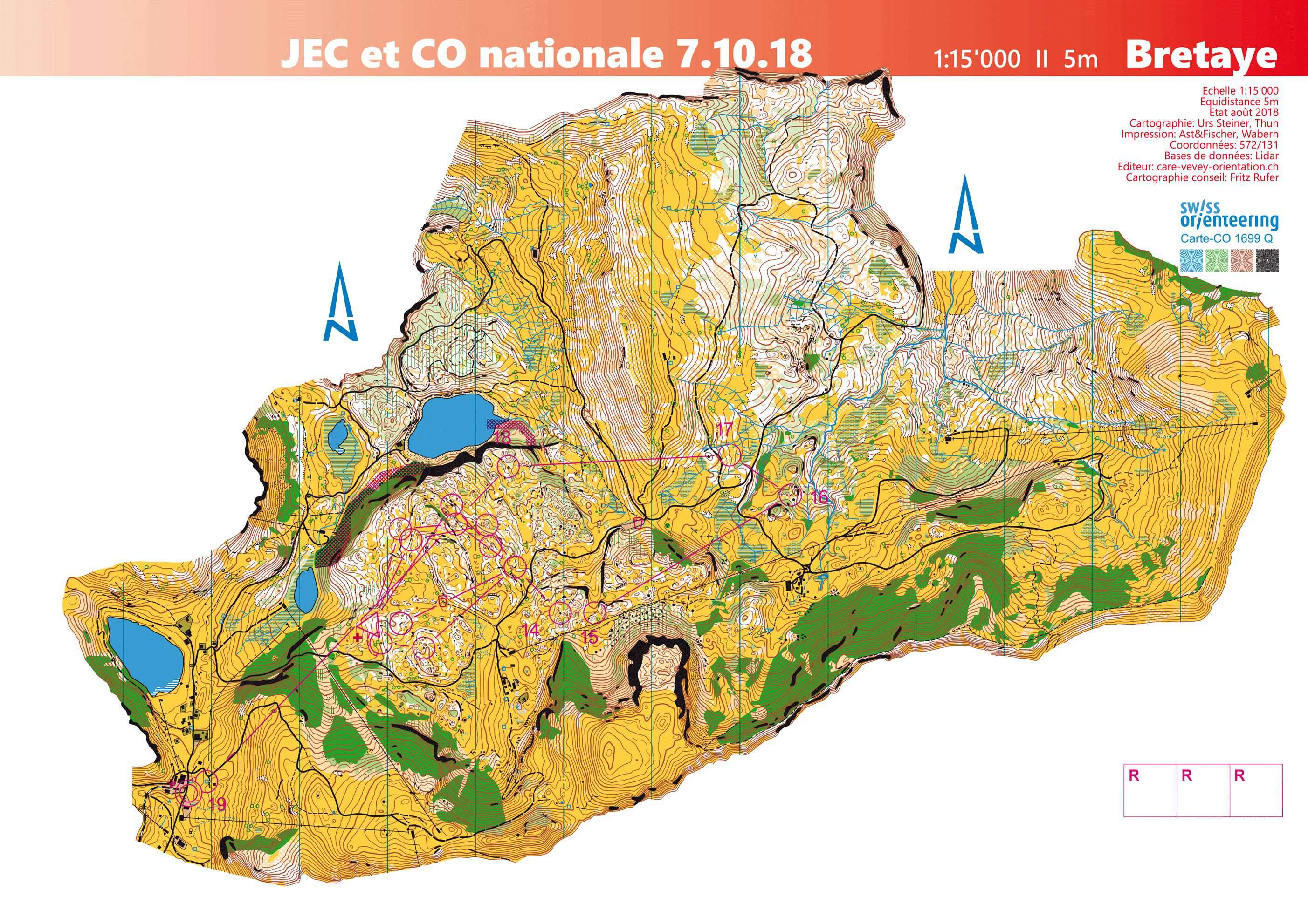 Junior European Cup - Long Distance (07-10-2018)