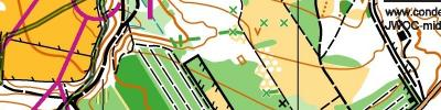 Junior World Orienteering Championships - JWOC - Middle Distance Final B (2019-07-11)
