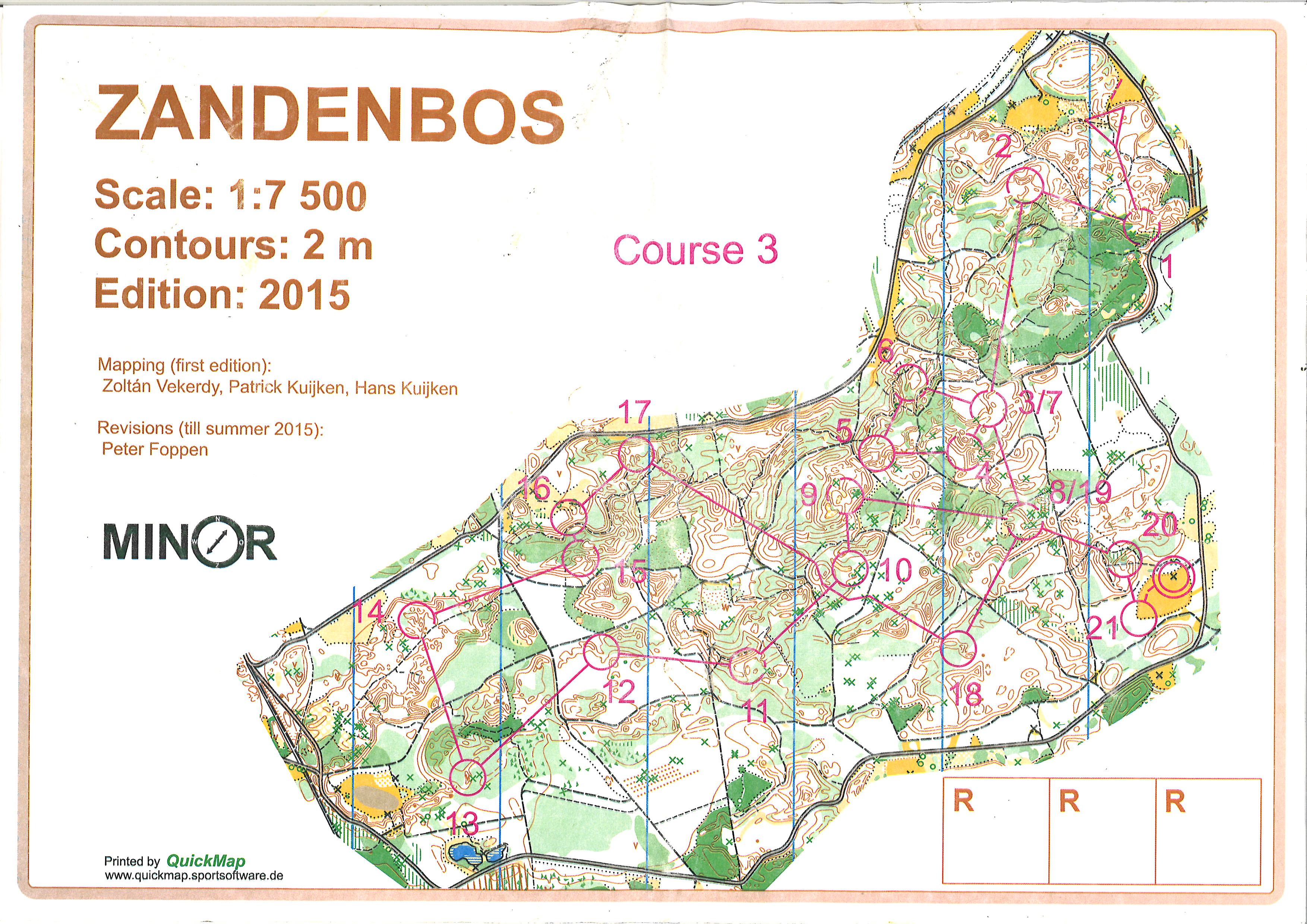 2Daagse in Veluwe - Moyenne Distance (24-10-2015)